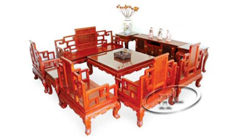 Bộ bàn ghế triện khánh (6 món)