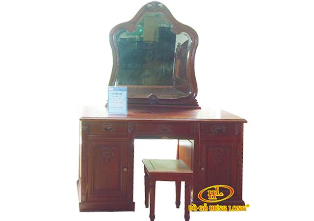 Bộ bàn phấn gỗ Gụ cao cấp