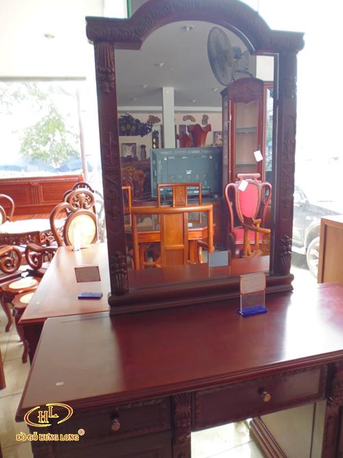 Bộ bàn phấn gỗ Gụ