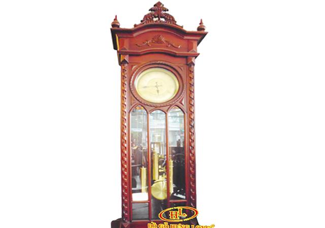 Đồng hồ HLT gỗ gụ