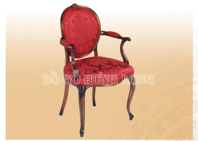 Ghế lưng tròn Louis 14