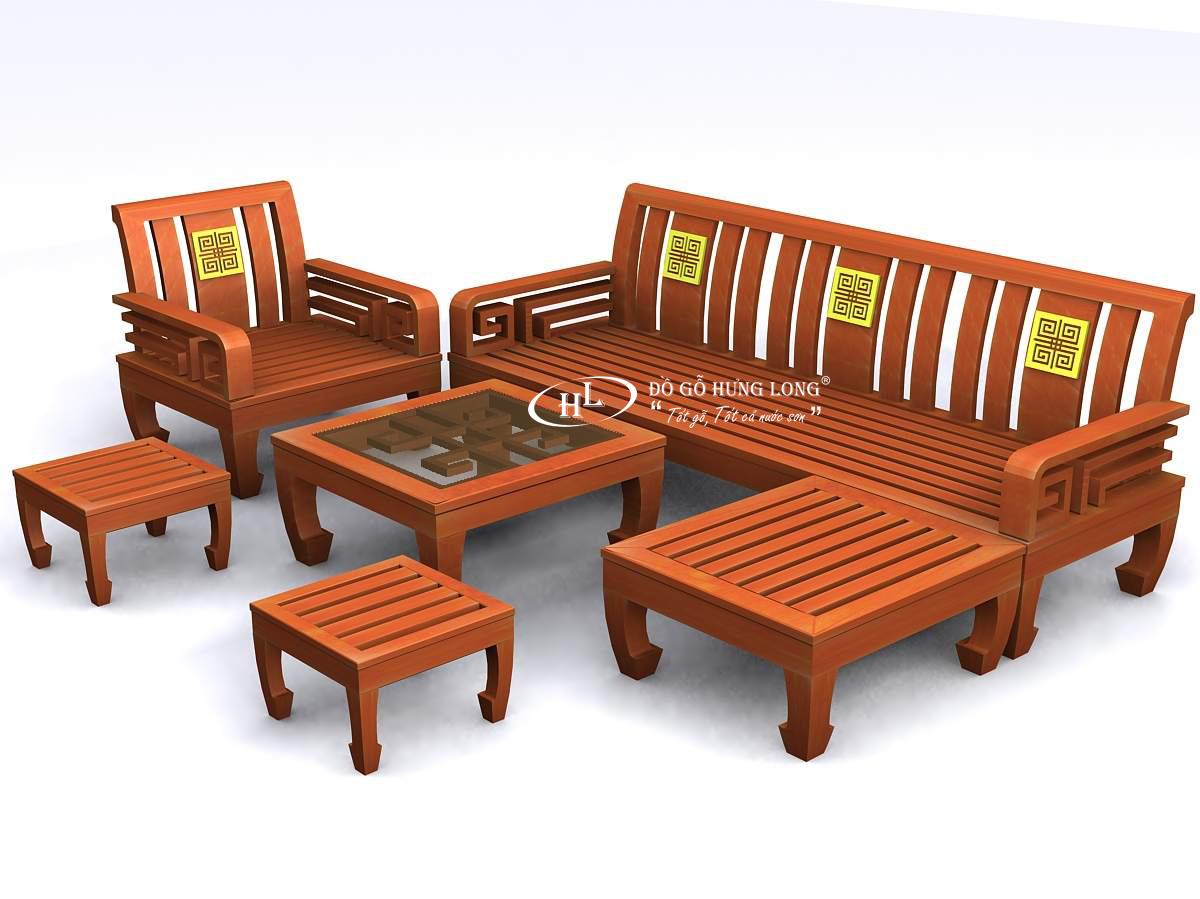 Bàn ghế phòng khách BGPK04