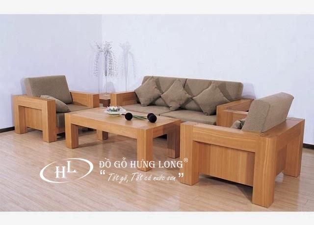 Bàn ghế nội thất phòng khách BGPK03