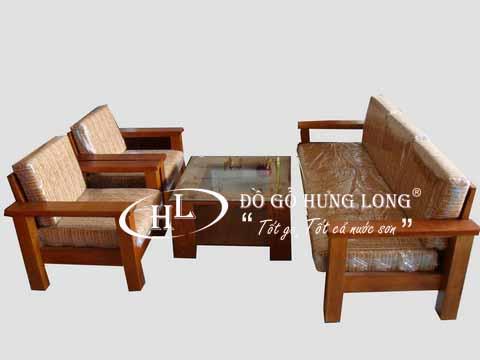 Bàn ghế sofa cao cấp BGPK02