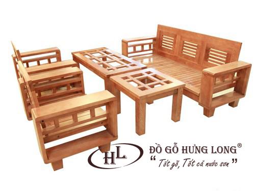 Bàn ghế sofa hiện đại BGPK10