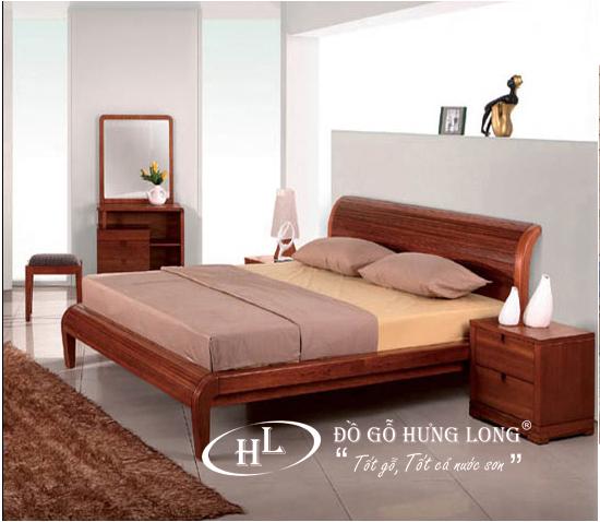 Giường ngủ hiện đại cao cấp GN12