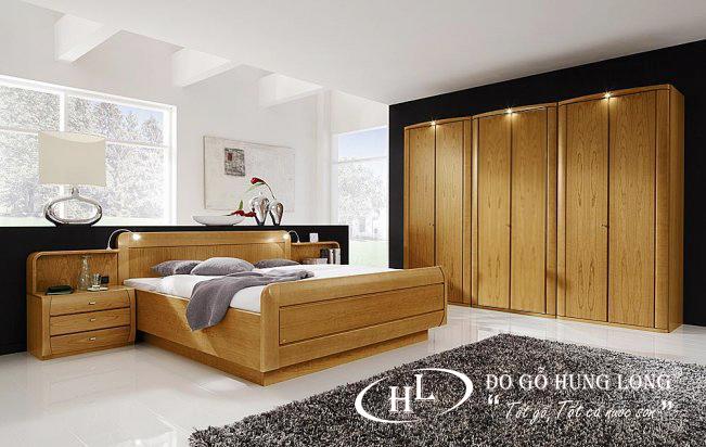 Giường ngủ hiện đại GN02