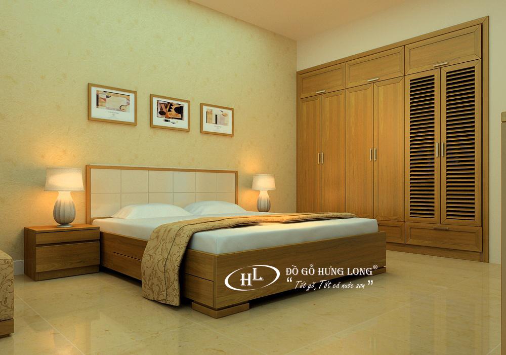 Giường ngủ hiện đại GN14