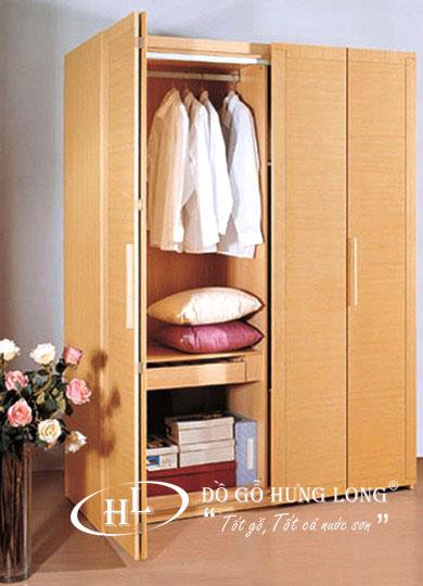 Tủ quần áo gỗ gông nghiệp cao cấp TA02
