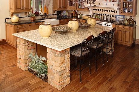 Bàn đá granit cho nội thất căn bếp sang trọng